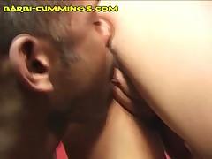 Barbi Cummings - Blonde Barbi Is Entertaining Two Black Men