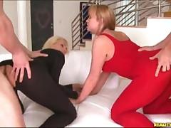 Maya - Two Blond Hotties Get Anal Fucked