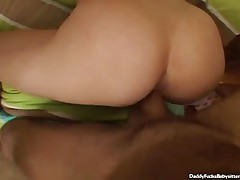 Janie Jones - Young Babysitter And Daddys Throbbing Cock