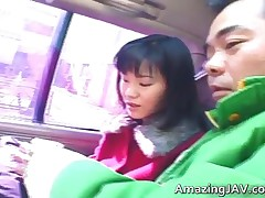 Hot Asian Babe In Car Having Fun With Some Cock 1 By Amazingjav