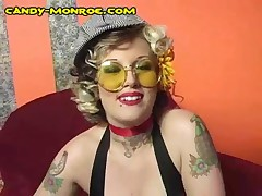 Candy Monroe - Candy Humiliate And Make Him Wear Women Dress