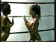 nude oilwrestling between the ropes