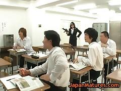 Natsumi Kitahara - Natsumi Kitahara Gets Fucked By Four Men 2 By Japanmatures