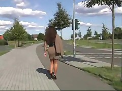 Patricia - Stoeckelschuhe High Heels Milf Nylons Hot Black Pumps Walking Solo