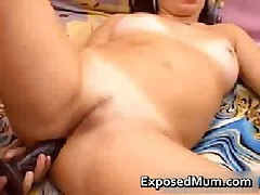MILF Loves Anal With A Wide Dildo 2 By ExposedMum