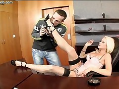 Stacy Silver - These Feet Are Made For Fucking - Scene 5