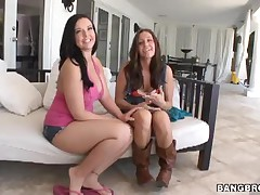 Emma Heart And Gracie Glam - Monster Of Butts!
