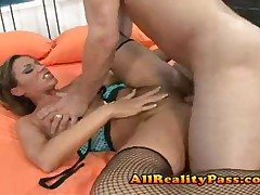 Adriana Deville - See Her Squirt - Tan MILF Squirts All Over Thick Cock