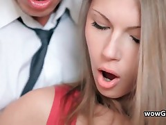 Amazing Sexy Blonde Teenaged Gets Her Tiny Box Pounded Stiff 2 By Wowgf