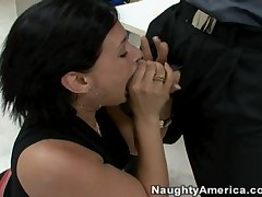 Billy Glide Vs Tory Lane - Naughty Office