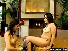 Sativa Rose And Kaiya Lynn - Ball Honeys California Double Honeys #8