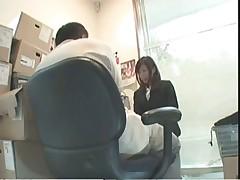 Office sex caught on tape