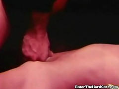 He Jizzes On Her Belly