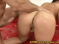 London Keys - Mr Chews Asian Beaver - Natural Double Ds On Asian Pussy