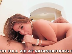 Natasha Nice - Natasha Nice Takes A Big Dick Really Hard In Her Tight Pussy
