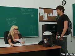Brittany O Neil Vs Xander Corvus - My First Sex Teacher - She Is Going To Teach This Flippant Little