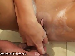 Sexy Looking Brunette Slut Who Loves Extreme Sex And Warm Cum