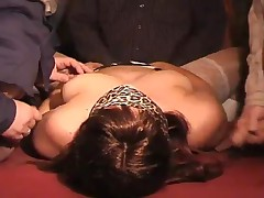 Cum Drinking Wife - Slutwife Fucked And Creamed By 60 Guys In A Pub