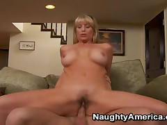 Olivia Parrish - My Friends Hot Mom - Sexy MILF Olivia Parrish Loves Getting Fucked Hard By Young Co