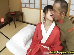 Hello Mikity Exciting Real Asian Model Getting A Exciting Butt Fuck Creampie 1 By AssNippon