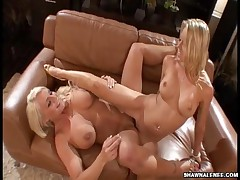 Shawna Lenee And Sadie Swede - Awesome Blondes With Awesome Tits