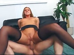 Lauren Phoenix - Lauren Phoenix Fucking In Thigh High Stockings And Garter