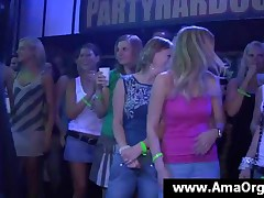 Gorgeous Party Chicks Having Fun With Stripper