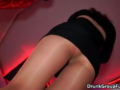 Drunk Horny Girls Love Sucking Big Dick At A Hot Groupsex Party By DrunkGroupFuck