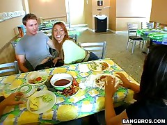 Sienna West - MILF Soup - Fucked Her In The Restaurant