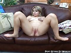 Jackie Avalon - Lovely Chick Masturbates With Sextoy