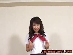 Maki Miyashita - Maki Miyashita Gets Her Wet Pussy Fucked 20 By Japanmatures