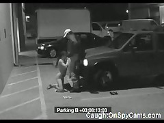 Amateur Blowjob On Parking