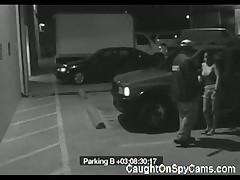 Amateur Blowjob On Parking