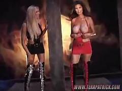 Briana Banks And Tera Patrick - Collision Course