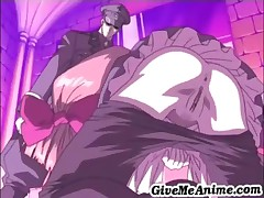 This Cute And Horny Hentai Chick Gets Her Tight Pussy Fucked From Behind
