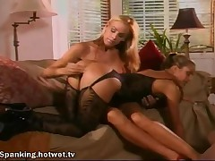Good Looking Blonde MILF Spends Time With Her Horny Lesbian Lover