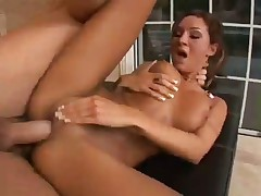 Hot Bang Scene With Beautiful Brunette
