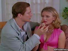 Cameron Diaz - Cameron Diaz In A Sexy Pink Top