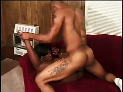 Hot Black Girl Gets Eaten And Fucked Hard