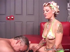 Candy Monroe - Wimp Cuckold Tiny Member