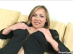 Sara May - Smoking Hot Latina Babe Sara May Toying Her Tight Holes And Gets Banged