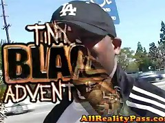 Autumn - Tinys Black Adventures - Black Pussy Circle Rides Black Cock