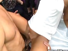 Sex Party With Male Stripper