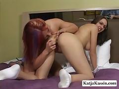 Katja Kassin - Lesbians Making Out