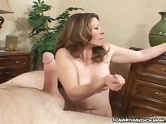 Abby - MILF Blowjob And Handjob Combo