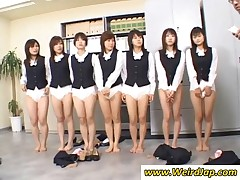 Japanese Bitches Showing Asses In Diapers