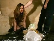 Messy humiliation and trashing domination