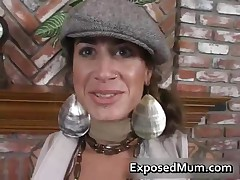 Round Bigtits Tattooed Mom Fireplace Fucking 1 By ExposedMum