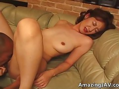 Busty Asian Gets A Warm Facial 2 By Amazingjav