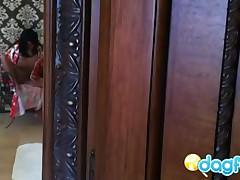 Hidden Cam Dildo Masturbating